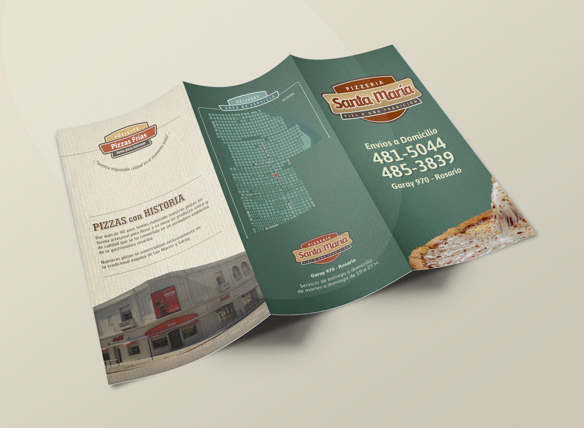 Pizzería Santa María